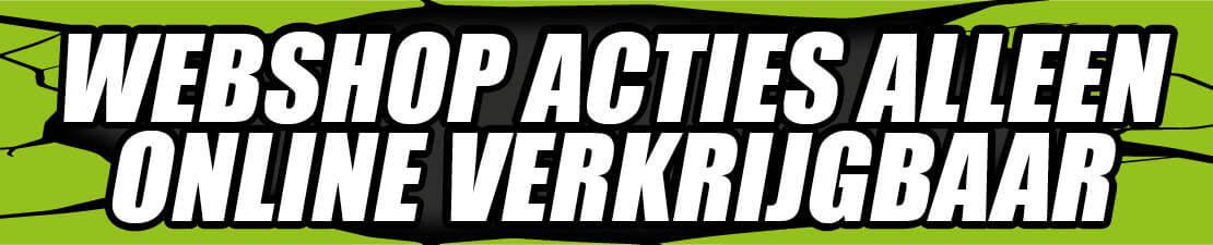 Webshop acties