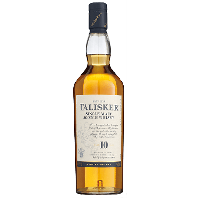 Talisker Single Malt 10 Years Whisky 70 cl