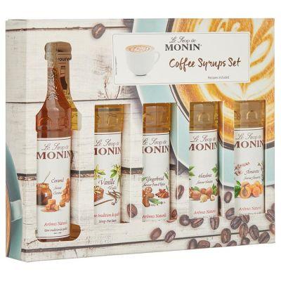 Monin Coffee siropen set 5 x 5 cl