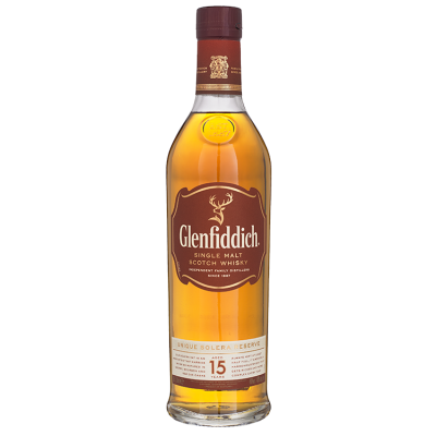 Glenfiddich Single Malt 15 Years Whisky 70 cl