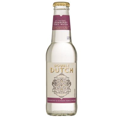 Double Dutch Cranberry & Ginger Tonic Water 20 cl