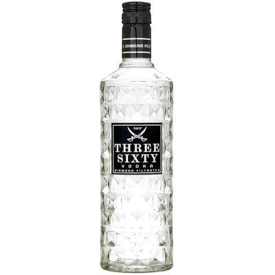 Three-Sixty Vodka 70 cl