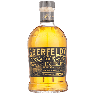Aberfeldy Single Malt 12 Years Whisky 70 cl