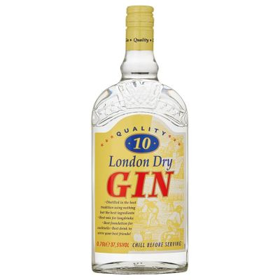 Quality 10  London Dry Gin 70 cl