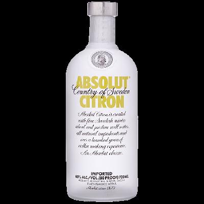 Absolut Citron Vodka 70 cl
