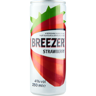 Bacardi Breezer Strawberry 25 cl