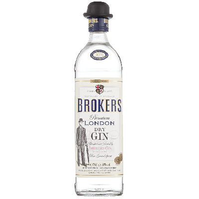 Broker's London Dry Gin 70 cl