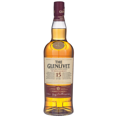 The Glenlivet Single Malt 15 Years Whisky 70 cl