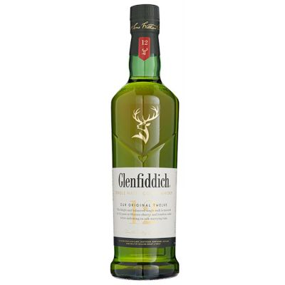 Glenfiddich Single Malt 12 Years Whisky 70 cl