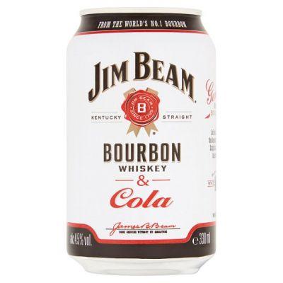 Jim Beam Boubon & Cola 33 cl