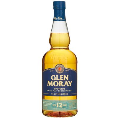 Glen Moray Single Malt 12 Years Whisky 70 cl