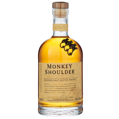 Monkey Shoulder Blended Malt Whisky 70 cl