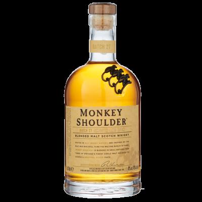 Monkey Shoulder Blended Malt Whisky 70 cl