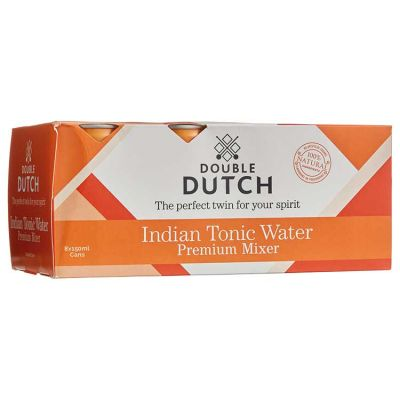 Double Dutch Indian Tonic Blik 15 cl