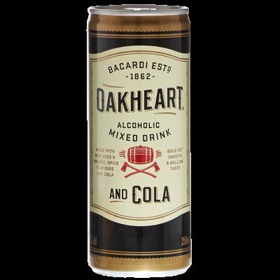 Bacardi Oakheart & Cola 25 cl