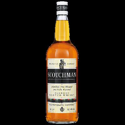 Scotchman Whisky HELE LITER