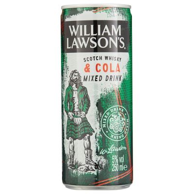 William Lawson's & Cola 25 cl