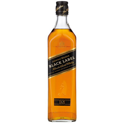 Johnnie Walker Black Label 12 years Whisky 70 cl