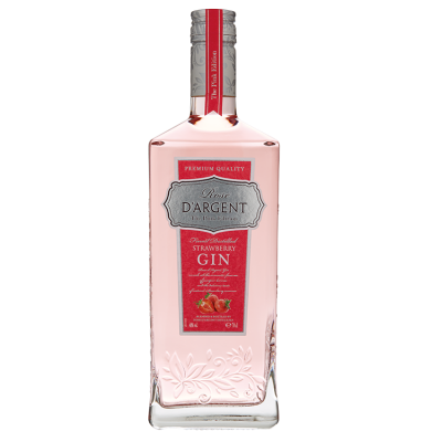 Rose D'Argent  Strawberry Gin 70 cl