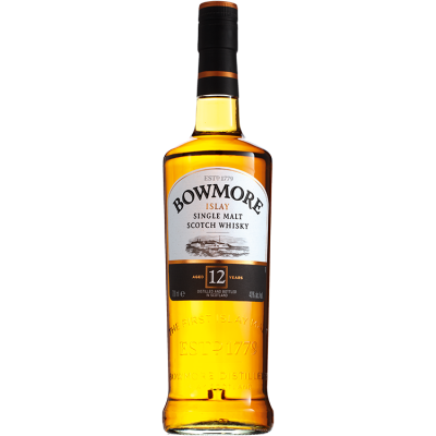Bowmore Single Malt 12 Years Whisky 70 cl