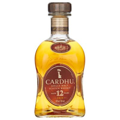 Cardhu Single Malt 12 Years Whisky 70 cl