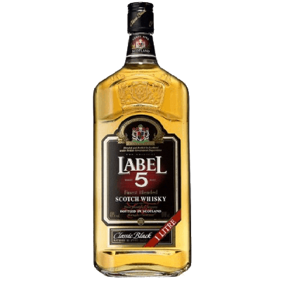 Label 5 Scotch Whisky 100 cl