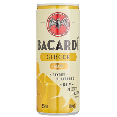 Bacardi & Ginger 25 cl