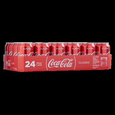 Coca-Cola Regular Blik 24 x 33 cl