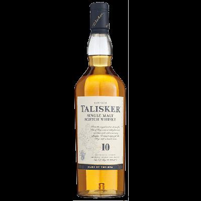 Talisker Single Malt 10 Years Whisky 70 cl