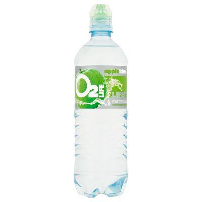 O2LIFE Mineraalwater Appel Kiwi 75 cl