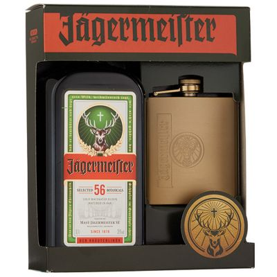 Jägermeister kruidenlikeur Met unieke flacon 70 cl