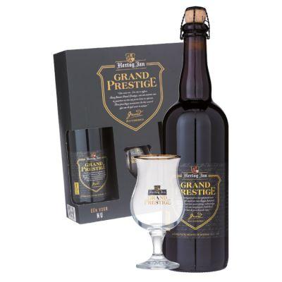 Hertog Jan Grand Prestige Met origineel glas 2 x 75 cl