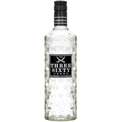 Three-Sixty Vodka 70 cl