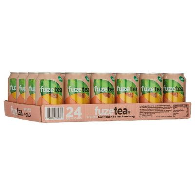Fuze Ice Tea Perzik Blik 24 x 33 cl