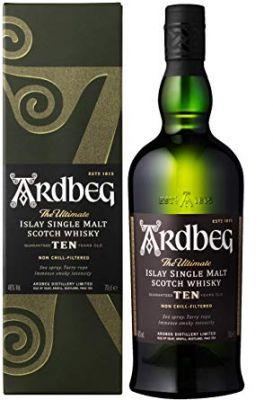 Ardbeg Single Malt 10 Years Whisky 70 cl