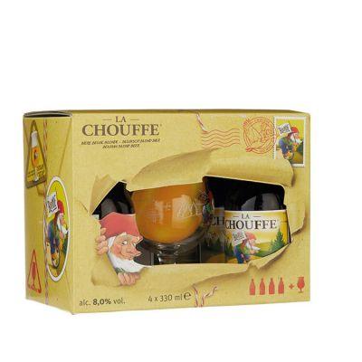 La Chouffe Kadoset 4 x 33 cl