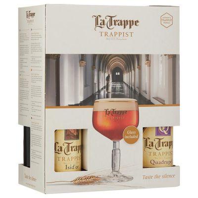 La Trappe + Prior bokaal 4 x 33 cl