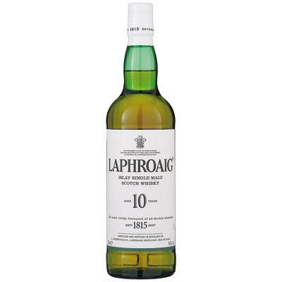 Laphroaig 10 Year Old Islay Single Malt Scotch Whisky 70 cl