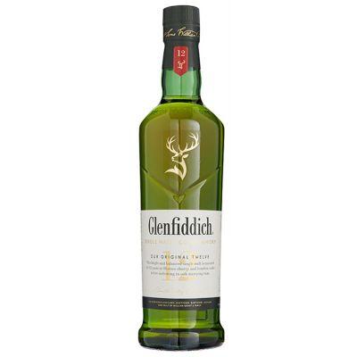 Glenfiddich Single Malt 12 Years Whisky 70 cl