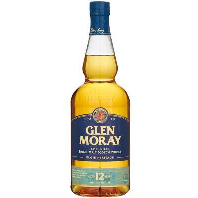 Glen Moray Single Malt 12 Years Whisky 70 cl