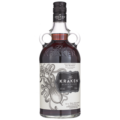 The Kraken Black Spiced Rum 70 cl