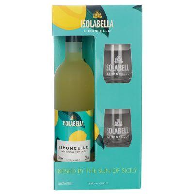Isolabella Limoncello Kadoverpakking 70 cl