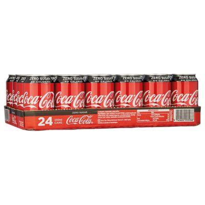 Coca-Cola Zero Blik 24 x 33 cl