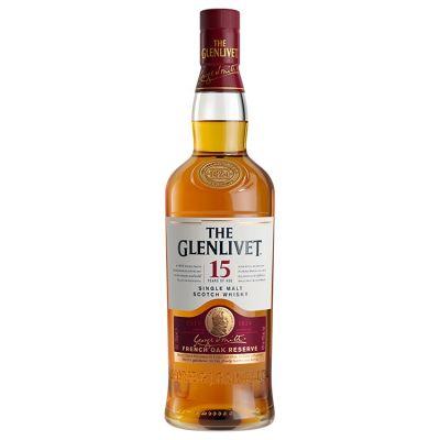 The Glenlivet Single Malt 15 Years Whisky 70 cl