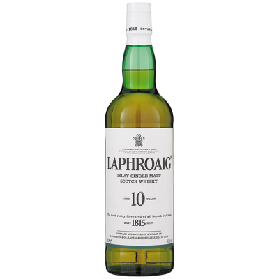 Laphroaig Single Malt 10 Years Whisky 70 cl