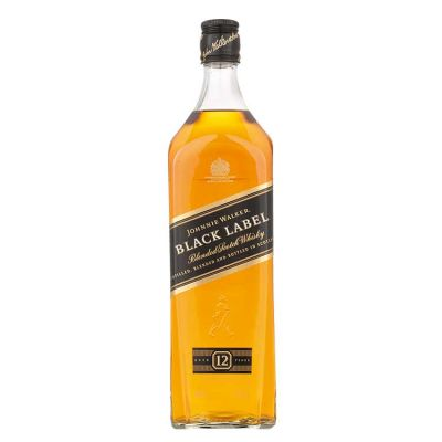 Johnnie Walker Black Label 12 Years Whisky 100 cl