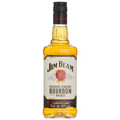 Jim Beam White Kentucky Straight Bourbon Whiskey 70 cl