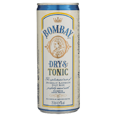 Bombay Sapphire Dry Gin & Tonic 25 cl
