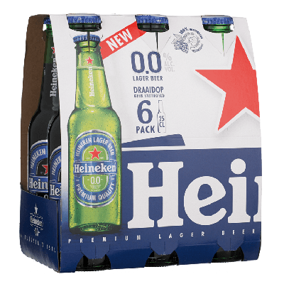 Heineken Twist off 0.0%  25 cl
