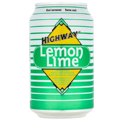 Highway Lemon Lime 33 cl